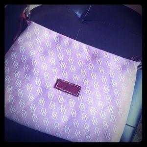 Light pink Dooney & Burke purse